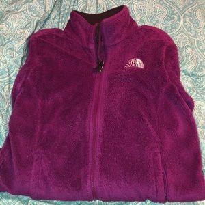 Purple Northface Jacket